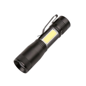 COB Pen Torch Q5 Led Tactical Flashlight Strong Light COB Working Led Mini Flashlight With COB Side Light