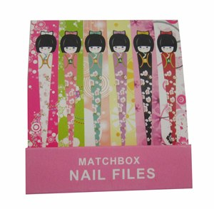 Disposable Nail File Match Box Nail File