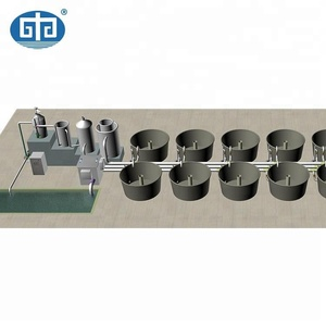 RAS Aquaculture Systems indoor fish pond equipment for fish farm shrimp