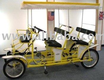 vier 4 rad zwei 2 und vier 4 personen surrey bike. Black Bedroom Furniture Sets. Home Design Ideas