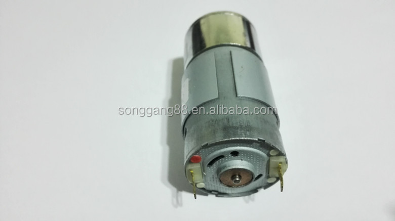 Small mini specifications 12 volt 12v 24v electric brush for Dc gear motor specifications