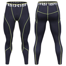 Männer's Pro Sport Hosen Quick-Dry Leggings Hochelastischen Trainingshose Fitness Läuft Yoga Hosen <span class=keywords><strong>Winter</strong></span>