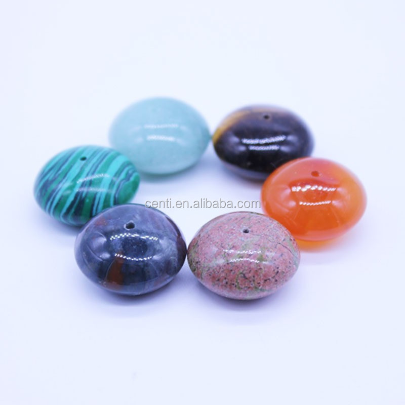 Colourful naturale stone beads per monili che fanno