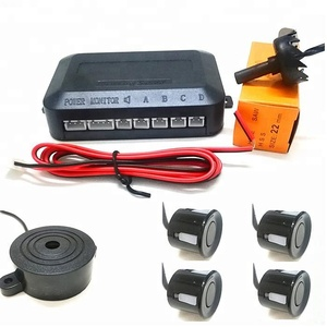car backing Reversing radar/car rear backup buzzer parking sensor system with 4 sensors for sale