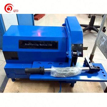 "2"" Rubber Hydraulic Hose Cutting Machine High Pressure"