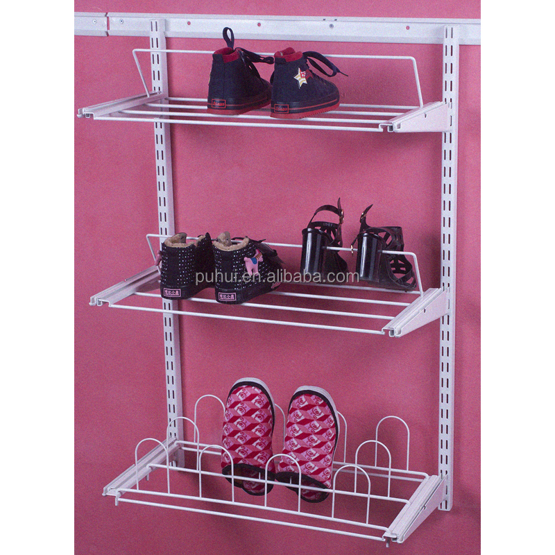 4 layers wall fixed bathroom storage rack with quality guarantee