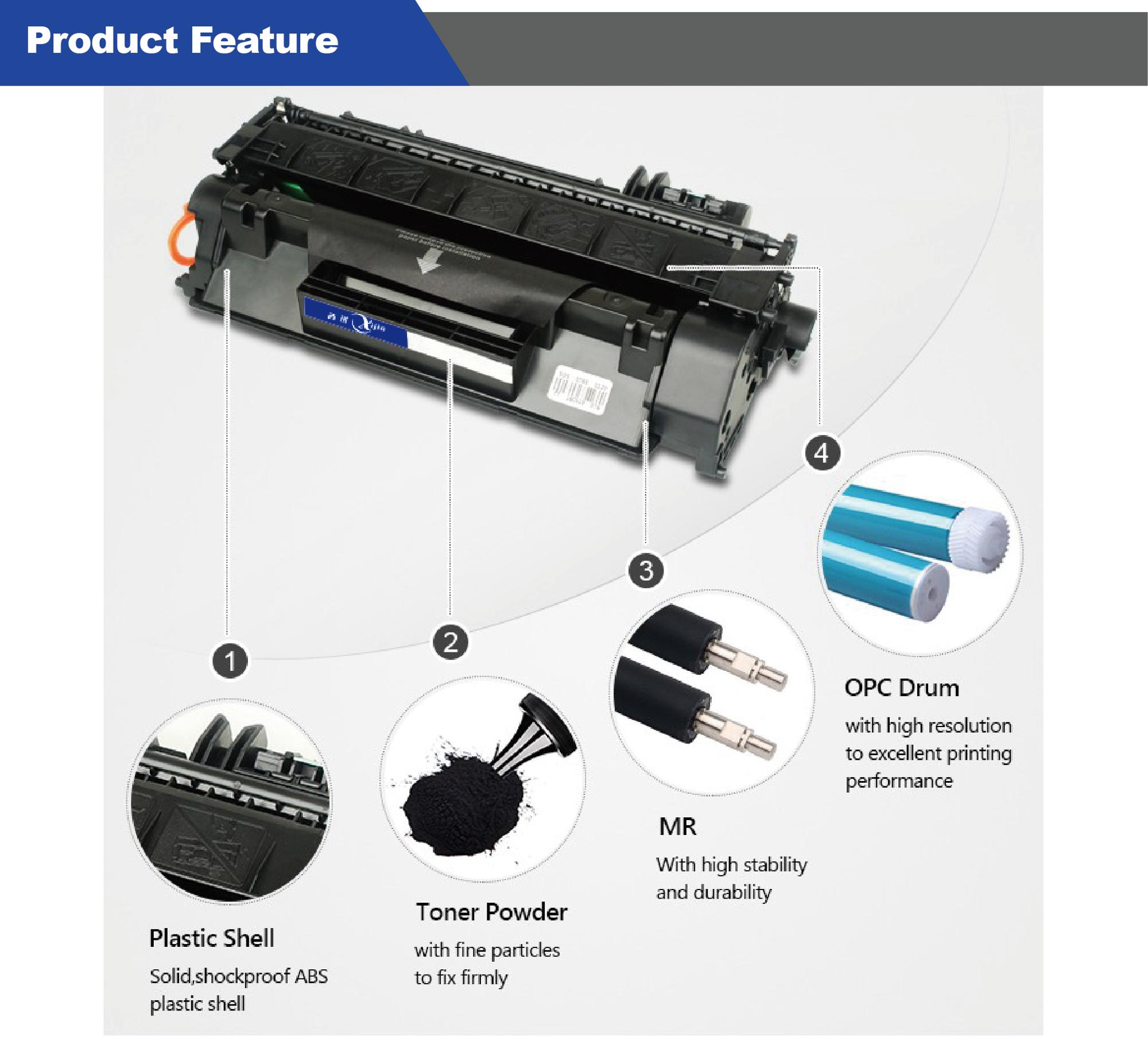 Ce285a 85a Compatible Toner Cartridge For Hp Printer Laserjet P1100 Opc Drum P1102 Katrid Lead Time Shipped In 3 5 Working Days After Payment