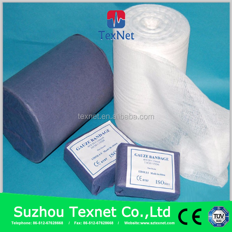TEXNET Good Absorbent Sterile Gauze Roll