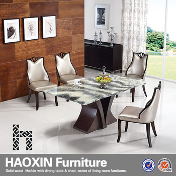 Marble Dining Table With Inlaid Semi Precious Stones U0026 Elegant Dining Chair