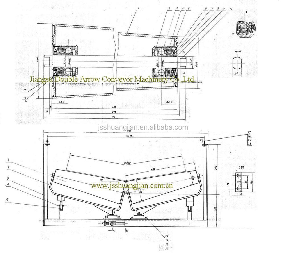 mining conveyor section diagram  diagrams  auto parts