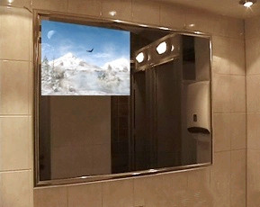 22 Inch Luxurious Waterproof Bathroom Mirror Screen Led Tv