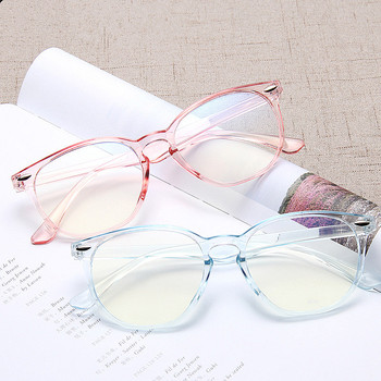 2019 Retro Ultralight Plastic Women Anti Blue Light Glasses Frames Clear Lens Blue Light Blocking Computer Glasses