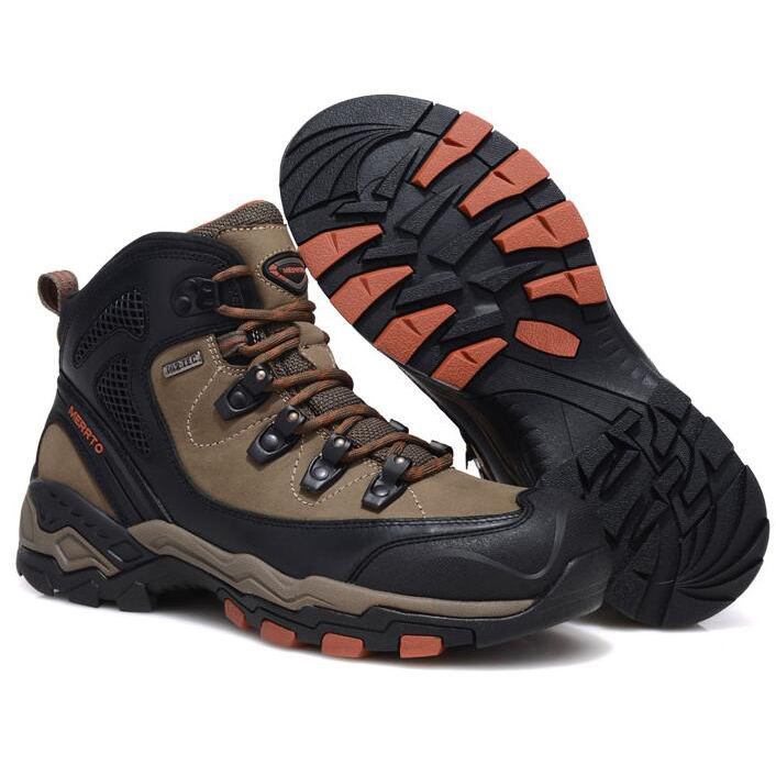 sport waterproof hiking Wholesale leather full protection grain boots toe outdoor mens rubber 1ywq8xqv54