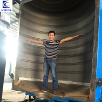 The hot plastic solar tank hollow three-dimensional mold plastic mold design and manufacturing