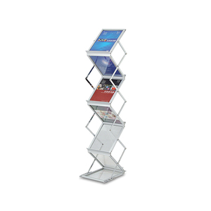 Acrylic literature stand fast assemble brochure display holder