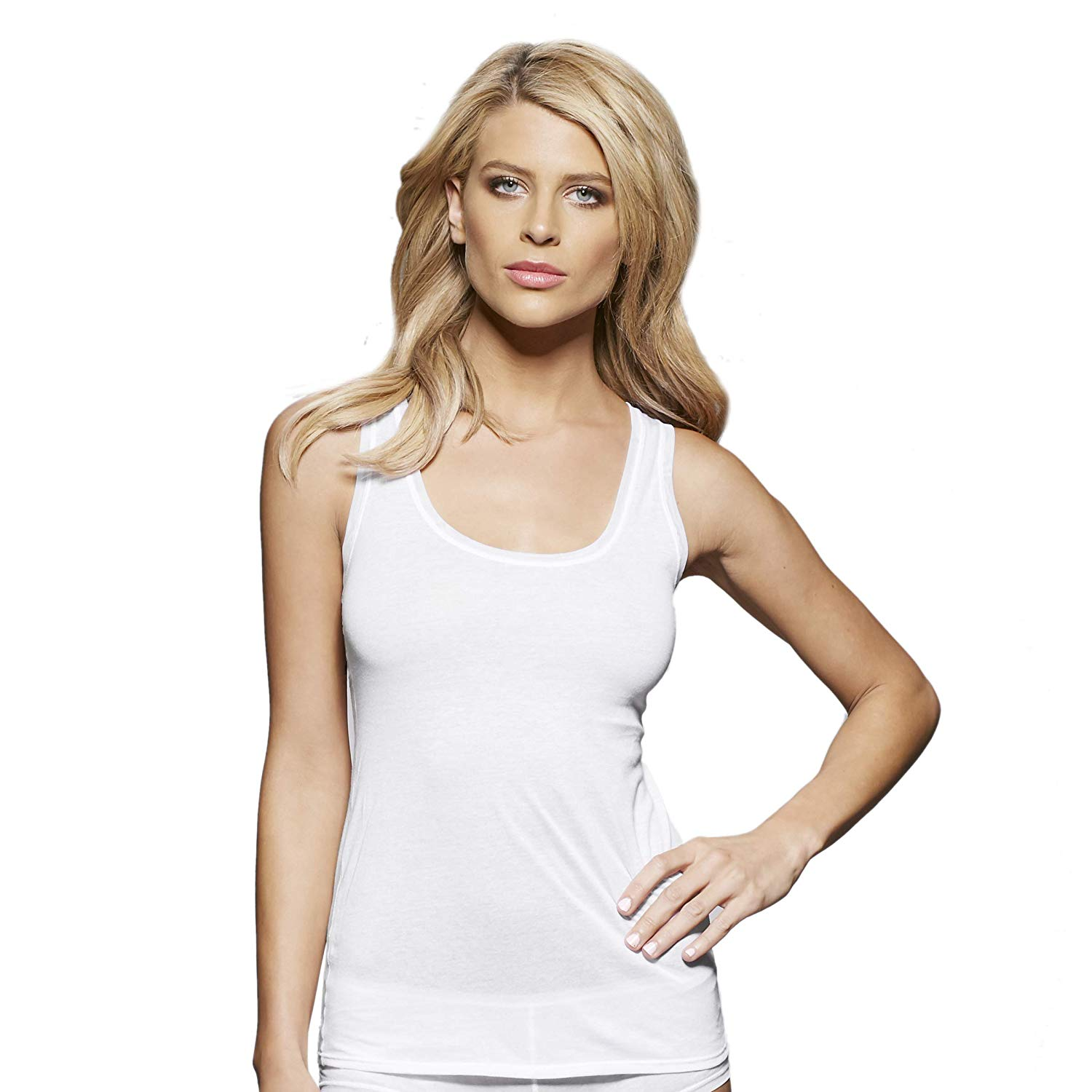 54d48404f5542 Get Quotations · Cami Top for Women, 100% Pure Cotton Cami Tank, Stylish  Wide Strap Camisole