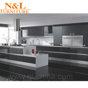 One stop unique building construction materials supplier modern kitchen cabinet
