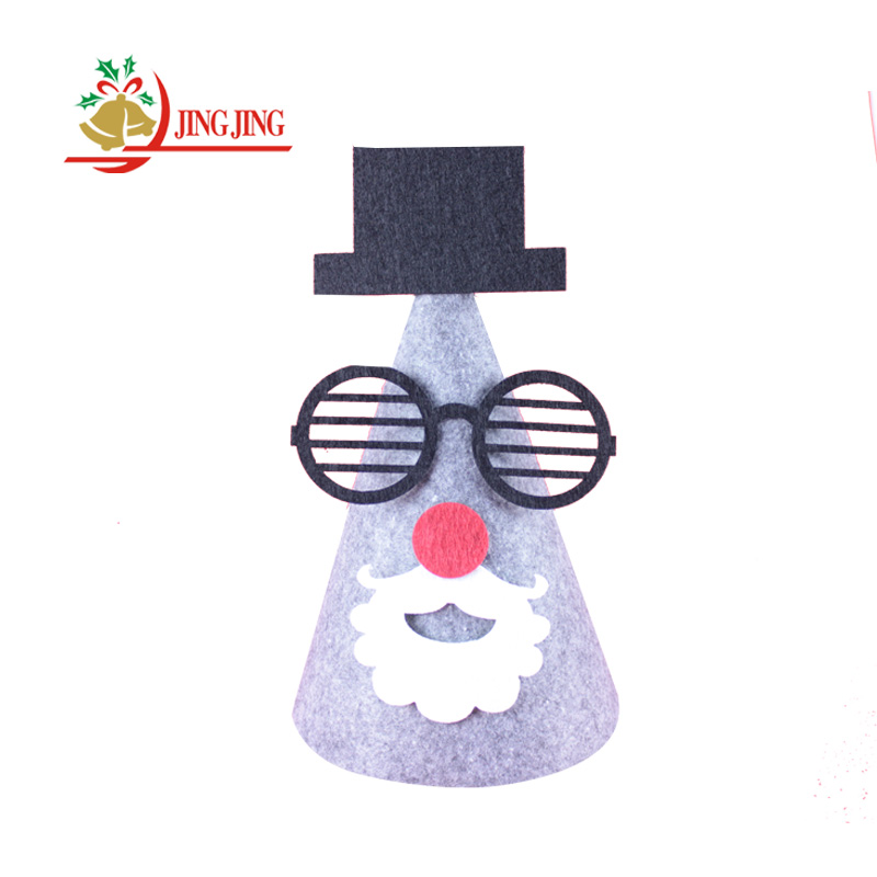 Manufacturer Provides Straightly Variety Of Style Party Decoration Felt Christmas Hat