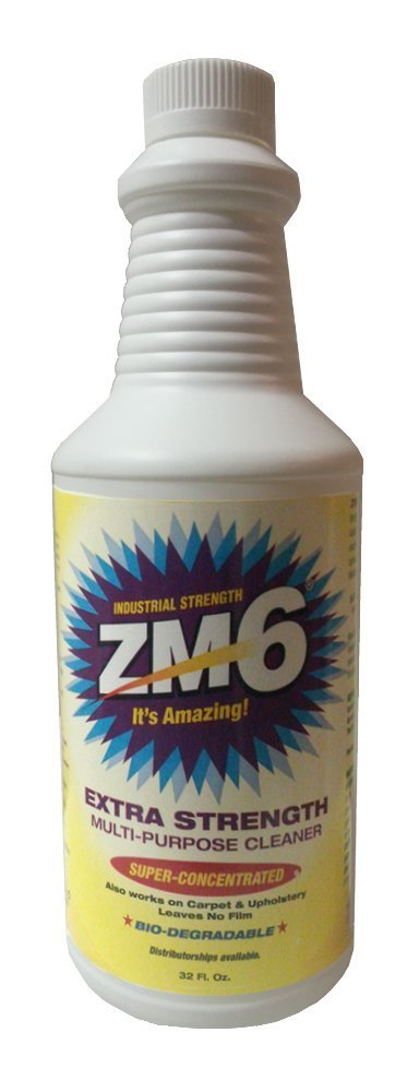 ZM6 Industrial Strength Multi-Purpose Cleaner - (2) 32oz Bottles