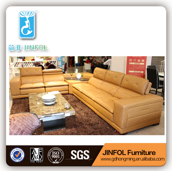 Made in China Living Room Furniture Design Sofa Leather Set J871
