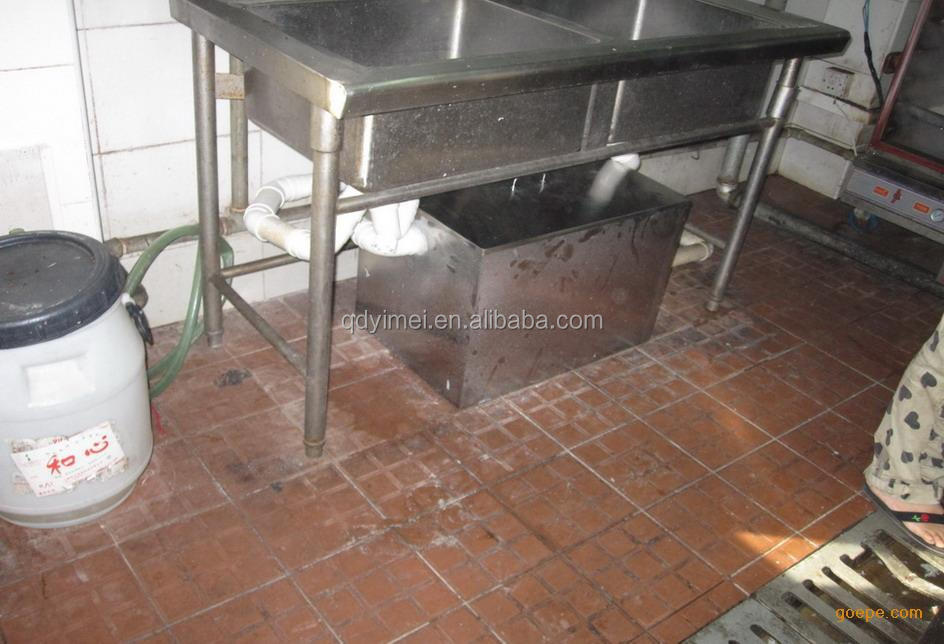 Portable grease trap for restaurant kitchen buy grease for Kitchen grease trap
