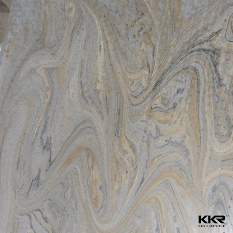 Cultured Marble look Modified Polyester Resin slabs