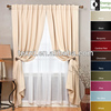 High Quality Blackout Curtain and Sheer in Various Colors