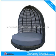 Rattan sofa bed outdoor round bed on sale