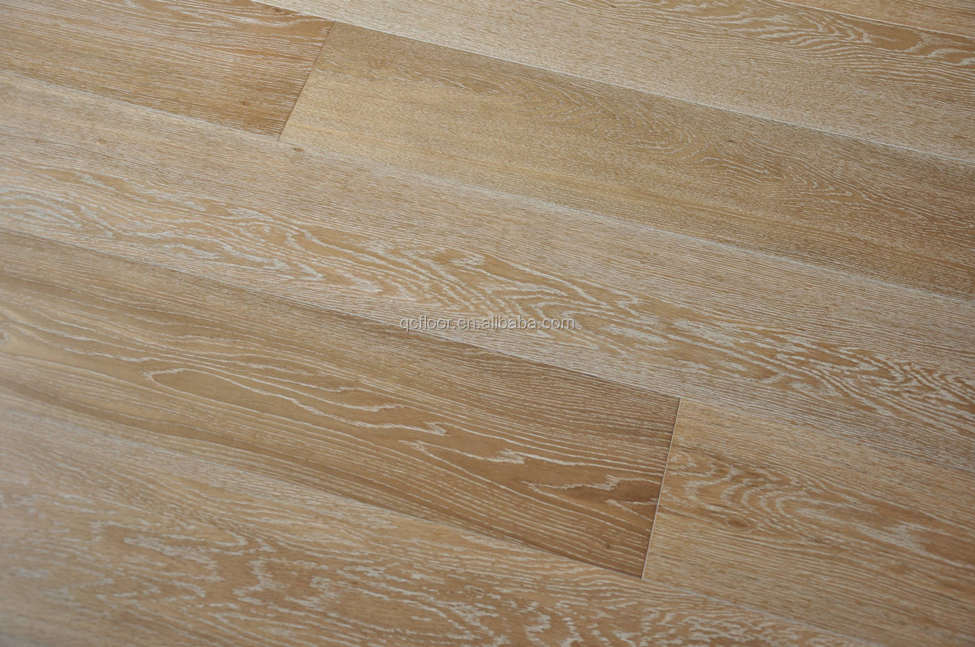 Wire Brushed Somked Timber Flooring