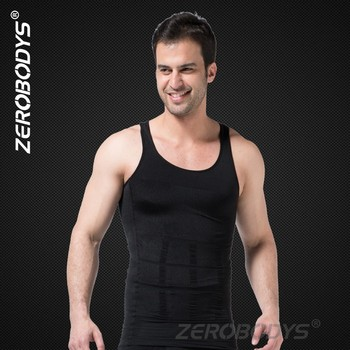 107 BK ZEROBODYS Incredible Men Ultra Slim Body Shaper