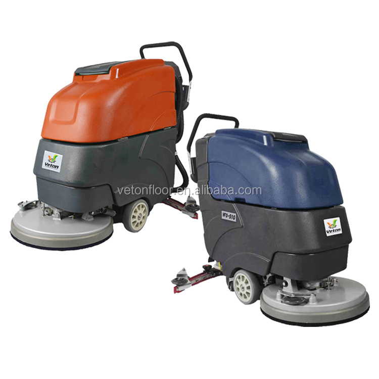 Factory Floor Cleaning Machine Vacuum Scrubber