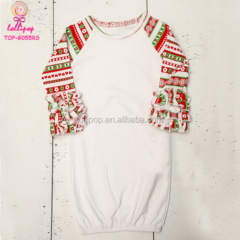 first christmas girls pajamas newborn baby shower gift red green fair isle christmas long sleeve baby