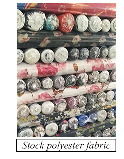 Top quality 100% cotton dyed canvas textile stock lot fabric