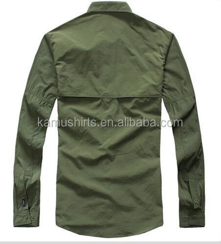 Coolmax mens long sleeve quick dry outdoor fishing shirts for Uv fishing shirts