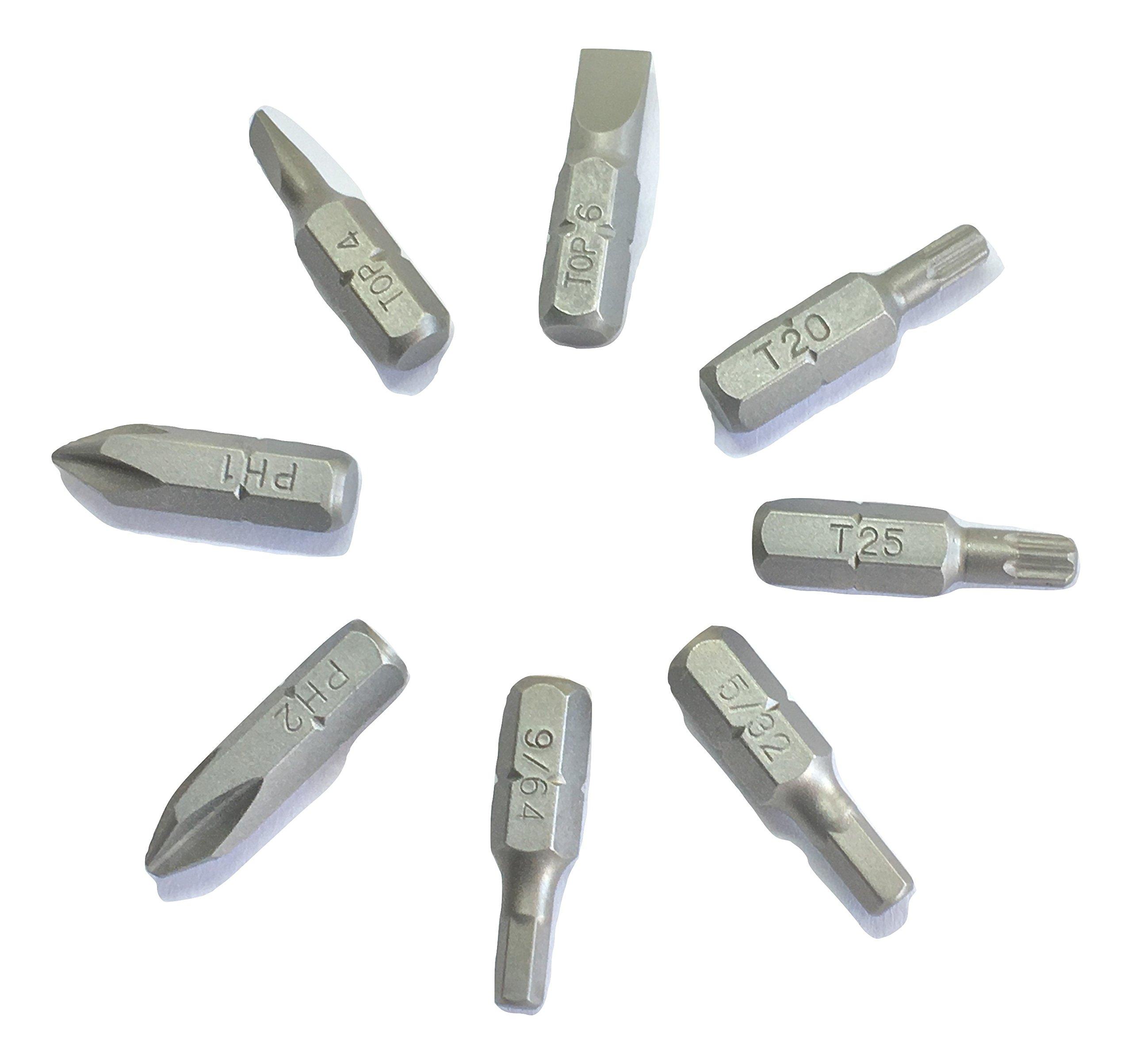 1//4 Drive T-25 USA K-Tool International KTI KTI21625 Torx Bit