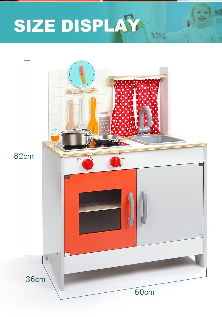 Top Bright Montessori Wooden Kitchen Play Wood Kitchen Toy Set 120323 - Buy  Wooden Kitchen Toy,Montessori Kitchen,Play Wood Kitchen Product on ...