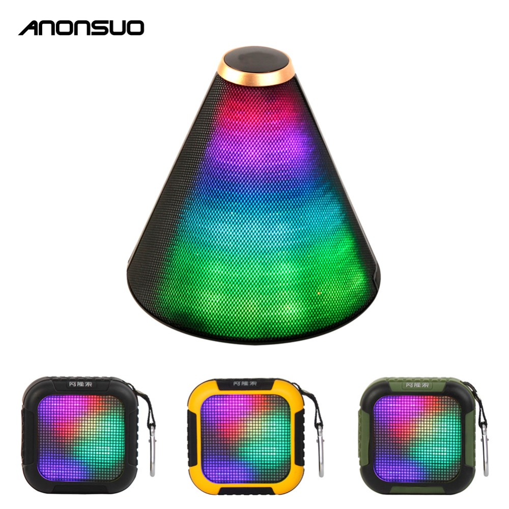 Anonsuo A5 led flashing light speaker wireless