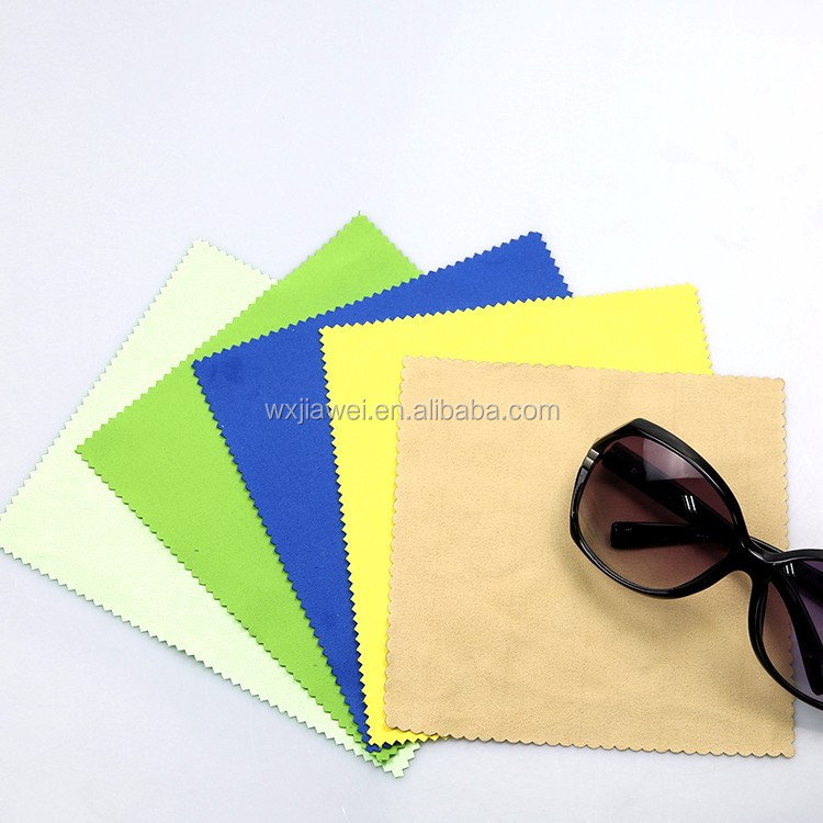 High quality microfiber cleaning cloth for eyeglasses