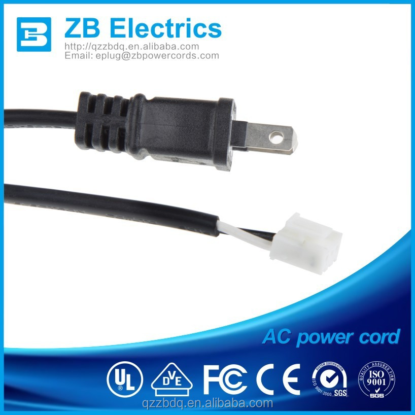 110v 2 pin Japanese ac power cord cable with super quality