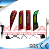 Advertising display fiberglass feather flag pole