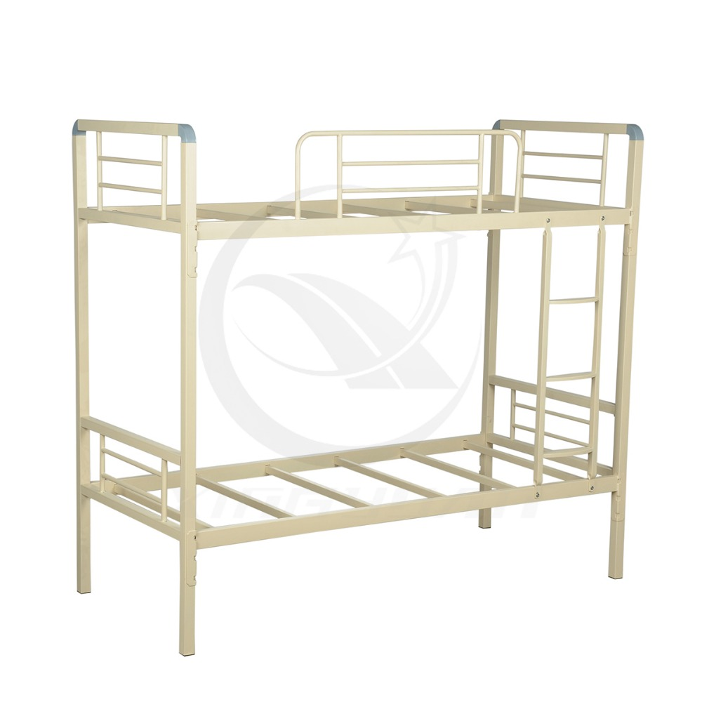 Steel double deck bed - Prevent From Corrosion Cheap Bed Designs Bunk Bed Steel Double Decker Bed