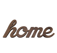 Home decor Rustic Standing or Wall Mount Hanging Cutout Letters Wooden sign