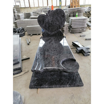 Cheap  Orion granite  tombstone  for Poland