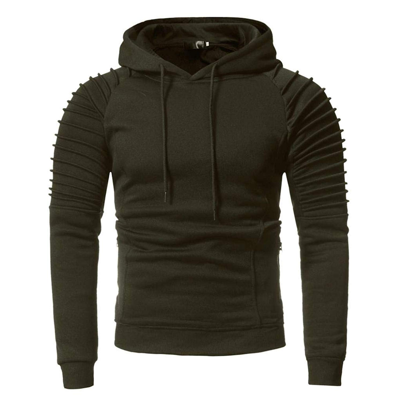 fce8eb4764826 Get Quotations · Hemlock Men's Hoodies Sweater Blouse Turtleneck Pullovers  Tops Hooded Tracksuits Coats Sweatshirts