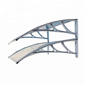 outdoor awning blinds waterproof canopy pc glass awning