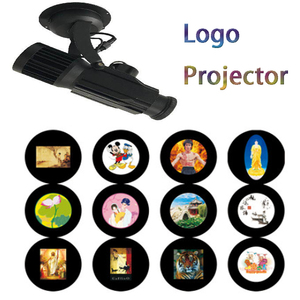 80w custom design logo projector led spotlight