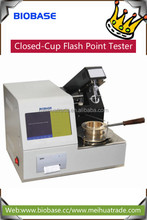 BIOBASE Closed-Cup Flash Point Tester used to make determination of the closed cup flash point of the petroleum products