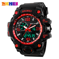 time Shock & Water Resistant Gents Sports Multifunction analog digital watch men