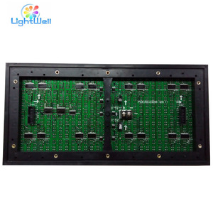china shenzhen led suppliers P10 dual color red & green outdoor LED display panel matrix 32x16cm