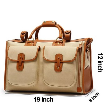 Canvas Lightweight Foldable Duffle Bag Traveling bags For Women Men kids Vacation and Travel Duffel Bags